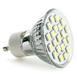 GU10 LED Spotlight MR16 21 SMD 5050 220 lm Natural White AC 220-240 V