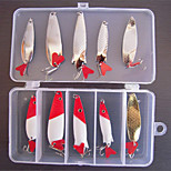 10 pcs Harte Fischköder / Metallköder / Ködertasche / Angelköder Metallköder / Harte Fischköder / Ködertasche Others g Unze mm Zoll,Metall