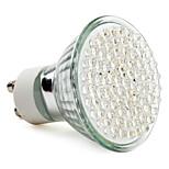 GU10 תאורת ספוט לד MR16 78 לד בכוח גבוה 390 lm לבן טבעי AC 220-240 V