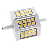 R7S 5 W 24 SMD 5050 350 LM Warm White / Cool White Corn Bulbs AC 85-265 V