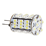G4 3.5 W 54 SMD 3528 260 LM Warm White/Cool White Corn Bulbs DC 12 V