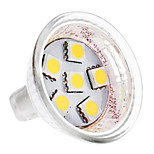 GU4 1 W 6 SMD 5050 100 LM Warm White / Cool White MR11 Spot Lights DC 12 V