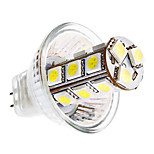 GU4 3.5 W 18 SMD 5050 290 LM Warm White/Cool White MR11 Corn Bulbs DC 12 V