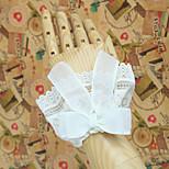 Lolita Accessories Classic/Traditional Lolita Lolita Princess White Lolita Accessories Sleeve Bowknot / Lace / Solid For WomenOrganza /