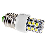 E26/E27 3.5 W 27 SMD 5050 330 LM Warm White / Cool White T Corn Bulbs AC 110-130 V