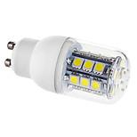 Lâmpada Espiga GU10 3.5 W 330 LM 6000K K Branco Quente/Branco Frio 27 SMD 5050 AC 220-240/AC 110-130 V
