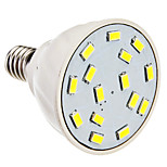 Faretti 15 SMD 5630 PAR E14/GU10/E26/E27 3.5 W 300 LM Bianco caldo/Luce fredda AC 220-240/AC 110-130 V