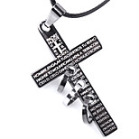 Men's Fashion Rope Vintage / Cute / Party / Work / Casual Alloy / Others Braided/Cord Cross Necklaces