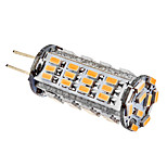 G4 3 W 57 SMD 3014 220 LM Warm White/Cool White Corn Bulbs DC 12 V