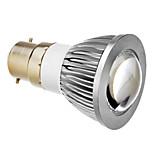 E14 / B22 5 W COB 350 LM Warm White / Cool White Spot Lights AC 85-265 V