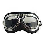 Windproof Leather Skiing Goggle