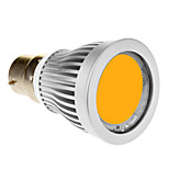 B22 7 W 1 COB 600-630 LM Warm White Spot Lights AC 85-265 V