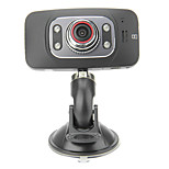 GS8000F 2.7 Inch 720P Car DVR 30FPS + LED Night Vision + 120 Degree + Motion Detection + 4 Digital Room