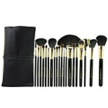 Make-up For You® 20pcs Makeup Brushes set Goat/Pony/Horse/Wool/Bristle Hair  Limits bacteria/Professional Black Blush/Shadow Brush