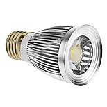 E26 5 W 1 COB 420-450 LM Cool White Spot Lights AC 85-265 V