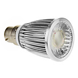 B22 5 W 1 COB 420-450 LM Cool White Spot Lights AC 85-265 V