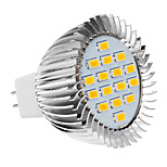GU5.3/E26/E27 5 W 16 SMD 5630 420-450 LM Warm White Spot Lights AC 220-240 V
