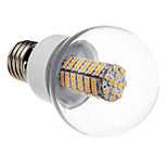 E26/E27 7 W 118 SMD 3528 620-640 LM Warm White/Cool White Globe Bulbs AC 220-240 V