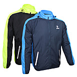 Cycling Jacket Men's Long Sleeve Bike Thermal / Warm / Quick Dry / Ultraviolet Resistant / Front Zipper Jacket 100% PolyesterPatchwork /