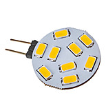G4 2.5 W 9 SMD 5730 120-150 LM Warm White LED Spotlight V