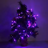 4m 3W 40 levou-luz 210LM roxo / amarelo / vermelho / azul / branco / branco quente levou luz de tira para decorações de natal