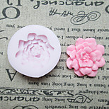 DIY One Hole Flower Silicone Mold Fondant Molds Sugar Craft Tools Resin flowers Mould Molds For Cakes