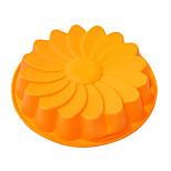 Large Daisy Shape Cake Baking Pan, Silicone(Color Randoms)