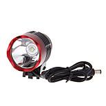 Eclairage de Velo Lampes Frontales / Eclairage de Vélo / bicyclette / Avant Bike Light LED Rechargeable 1000 Lumens Batterie Cree XM-L U2