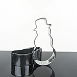 Snowman Shape Cookie Cutter for Christmas, Stainless Steel