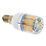 DAIWL E14 10W 46x2835SMD 770LM 2500-3500K Warm White Light LED Corn Bulb (210-240V)