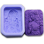 1 Eco-Friendly For Cake / For Cookie / For Chocolate Silicone Baking Mold
