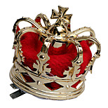 The Queen of Hearts Golden Women's Party Crown