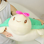 Cute Cartoon Tortoise With Bowknot Novelty Pillow