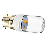 Lâmpada de Foco B22 1 W 70-90 LM 2800-3200 K Branco Quente 6 SMD 5730 AC 220-240 V