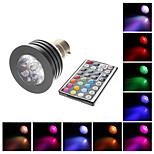 Spot Lights , GU10/B22 4 W 250 LM RGB AC 100-240 V