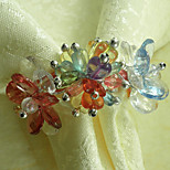 Multi-color Acrylic Napkin Ring Set of 1
