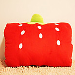 Cute Cartoon Strawberry Novelty Pillow