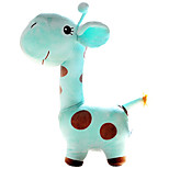 Cute Cartoon Blue Giraffe Novelty Pillow
