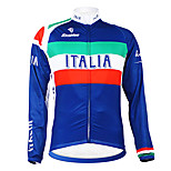 Kooplus - Italian National Team Cycling Long Sleeve Fleece Jersey