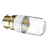 Faretti 9 SMD 5730 B22 W 90-120 LM Bianco caldo AC 220-240 V