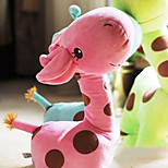 Cute Cartoon Pink Giraffe Novelty Pillow