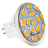 G4 4.5 W 15 SMD 5730 310-320 LM Warm White / Cool White MR11 Spot Lights AC 24 V