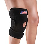 Adjustable Silicon 4-spring Sport Knee Guard Protector - Free Size