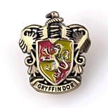 Unisex's Harry Potter Gryffindor Logo Alloy Brooch