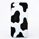 Cow grain Pattern ABS Hard Back Case for iPhone 4/4S