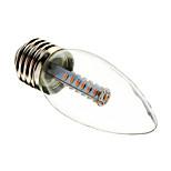 E26/E27 3 W 25 SMD 3014 180-210 LM Warm White/Cool White C Decorative Candle Bulbs AC 220-240 V