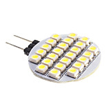 G4 2 W 24 SMD 3528 140 LM Warm White/Cool White Spot Lights DC 12 V