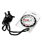 Compasses Hiking / Travel / Camping / Outdoor Directional / Compact Size / Pocket / Durable Plastic Transparent