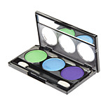 3 Eyeshadow Palette Shimmer Eyeshadow palette Powder Normal Daily Makeup / Party Makeup