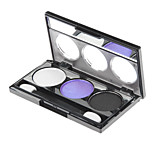 3 Eyeshadow Palette Shimmer Eyeshadow palette Powder Normal Daily Makeup